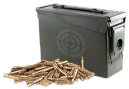 Target Sports USA specializes in bulk ammo with free shipping.