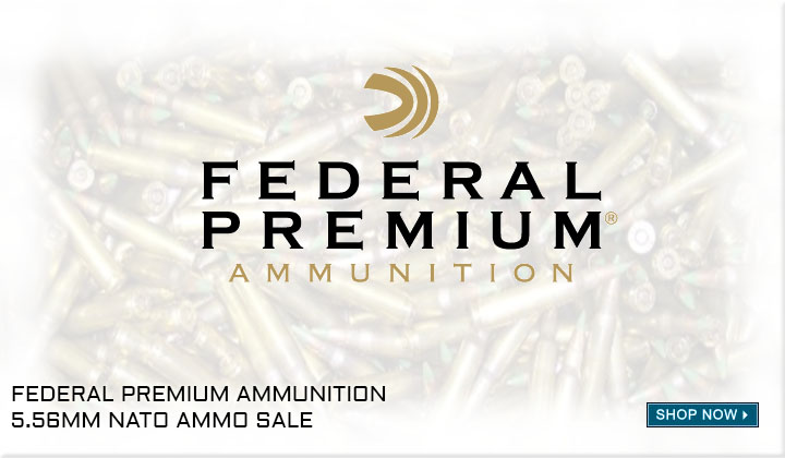 Federal 5.56mm Ammo Sale | Target Sports USA