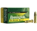Remington Golden Bullet 22 Long Rifle 40 Grain High Velocity PLRN