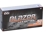 CCI Blazer Brass 40 S&W Ammo 180 Grain Full Metal Jacket