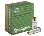 Remington Golden Saber 9mm Luger Ammo 147 Grain Brass JHP