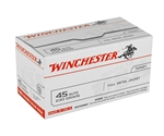 Winchester USA 45 ACP AUTO Ammo 230 Grain FMJ Value Pack