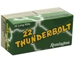Remington Thunderbolt 22 LR Ammo 40 Grain Lead Round Nose
