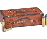 Ultramax Cowboy Action Ammunition 44 Colt 230 Grain Round Nose Flat Point Lead Case of 1000 (20 Boxes of 50)
