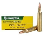 Remington Express 220 Swift 50 Grain Pointed Soft Point