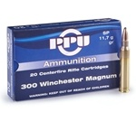 Prvi Partizan 300 Winchester Magnum 150 Grain Soft Point Ammunition