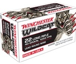Winchester Wildcat Ammunition 22 Long Rifle 40 Grain Lead Round Nose Box of 50