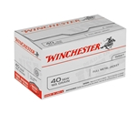 Winchester USA 40 S&W 165 Grain FMJ VP