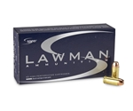 CCI Speer Lawman Ammunition 40 S&W 180 Grain Total Metal Jacket Box of 50