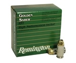 Remington Golden Saber Ammo 45 ACP AUTO 185 Grain +P Brass Jacketed Hollow Point Ammunition