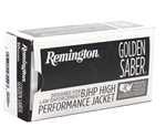 Remington Golden Saber 38 Special Ammo 125 Grain +P BJHP
