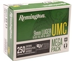 Remington UMC 9mm Luger 115 Grain Full Metal Jacket Mega-Pack