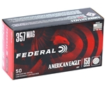 Federal American Eagle 357 Magnum Ammo 158 Grain Jacketed Soft Point