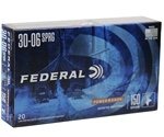 Federal Power-Shok 30-06 Springfield Ammo 150 Grain Soft Point