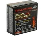 "Winchester PDX1 Ammo 410 Gauge 2-1/2"" 3 Disks over 1/4 oz BB Bonded Ammunition"