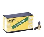 Remington Eley Target 22 Long Rifle Ammo 40 Grain Lead Round Nose