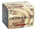 Federal AutoMatch 22 LR Ammo 40 Grain Lead Round Nose