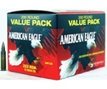 Federal American Eagle 223 Remington 55 Grain Full Metal Jacket Value Pack Ammunition