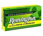 Remington Express 38 Special Ammo 110 Grain +P SJHP