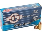 Prvi Partizan 380 ACP Auto Ammo 94 Grain Jacketed Hollow Point