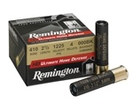"Remington Ultimate HD 410 Ga Ammo 2 1/2"" 000 Buckshot 4 Pellets"