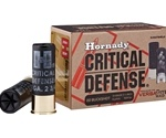 "Hornady Critical Defense 12 Gauge 2-3/4"" 00 Buck Lead Shot Ammunition"