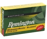 "Remington Slugger Managed-Recoil 12 Gauge Ammo 2-3/4"" 1 oz. Slug"