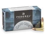 Federal Game Shok 22 Long Rifle Ammo 40 Grain Copper Plated Lead Round Nose