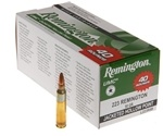 Remington UMC 223 Remington 45 Grain Jacketed Hollow Point Value Pack Ammunition