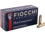 Fiocchi Shooting Dynamics 38 Special Ammo 130 Grain Full Metal Jacket