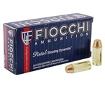 Fiocchi Shooting Dynamics 40 S&W Ammo 180 Grain Full Metal Jacket