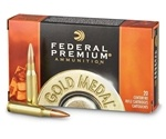 Federal Gold Medal 7.62x51mm Ammo 175 Grain Sierra MatchKing HP