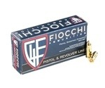 Fiocchi Shooting Dynamics 9mm Luger Ammo 124 Grain Full Metal Jacket