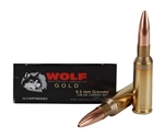 Wolf Gold 6.5 Grendel 120 Grain Multi Purpose Tactical Ammunition