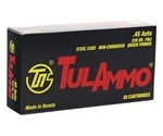 Tula Ammo 45 ACP AUTO 230 Grain Full Metal Jacket