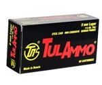 Tula Ammo 9mm Luger Ammo 115 Grain Full Metal Jacket