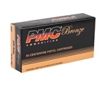 PMC Bronze 380 ACP AUTO Ammo 90 Grain Full Metal Jacket