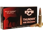 Prvi Partizan Thunder 308 Winchester Ammo 170 Grain Soft Point