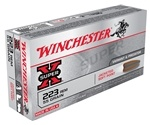 Winchester Super-X 223 Remington 55 Grain Pointed Soft Point Ammunition
