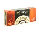 Federal Gold Medal 223 Remington Ammo 77 Grain Sierra MatchKing Hollow Point