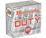Hornady Critical Duty Ammo 9mm Luger +P 135 Grain FlexLock