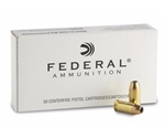 Federal Personal Defense 9mm Luger 115 Grain Hi-Shok Jacketed Hollow Point Ammunition