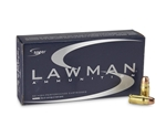 Speer Lawman CleanFire 357 SIG Ammo 125 Grain Total Metal Jacket