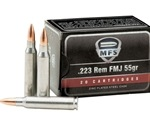 MFS Ammo 223 Remington 55 Grain Full Metal Jacket Ammunition