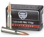 MFS Ammo 7.62x54 Rimmed Russian 174 Grain Full Metal Jacket Ammunition