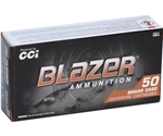 CCI Blazer Brass 40 S&W Ammo 165 Grain Full Metal Jacket