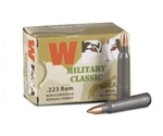 Wolf Military Classic 223 Remington 62 Grain Jacketed Soft Point Ammunition