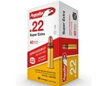Aguila SuperExtra 22 LR Ammo 40 Grain High Velocity Soft Point