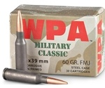 Wolf Military Classic 5.45x39mm Russian 60 Grain Full Metal Jacket Ammunition