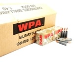 Wolf Military Classic 7.62x39mm Ammo 124 Grain Jacketed Hollow Point Bulk